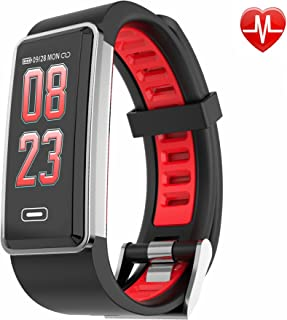 Fitness Tracker Heart Rate Monitor Blood Pressure Monitor Waterproof SmartWatch Colorful Wristband Activity Tracker Pedometer,