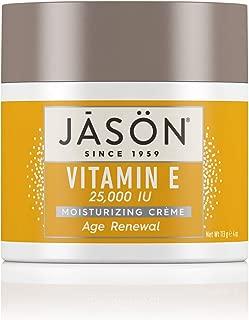 Jason Natural Products - Vitamin E Cream 25000 IU - 4 oz.