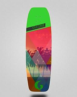 Glutier Surfskate Deck Surf Skate Skateboard - Car...