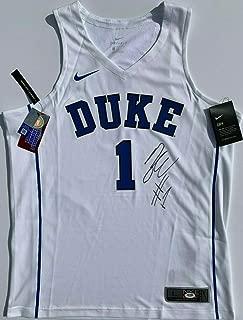 Zion Williamson Autographed Signed Memorabilia Nike Duke Blue Devils Basketball Jersey Auto - PSA/DNA Authentic