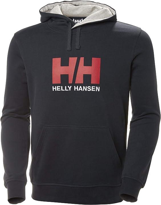 Felpa con cappuccio uomo helly hansen hh logo 33977