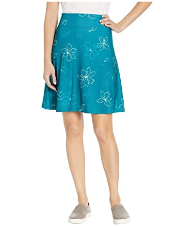 FIG Clothing May Skirt (Teal Magnolia) Women
