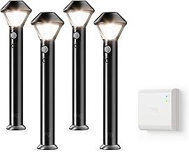 Ring Smart Lighting – Pathlight, Battery-Powered, Outdoor Motion-Sensor Security Light, Black (Starter Kit: 4-pack)