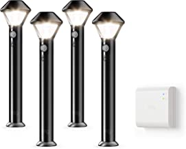 Ring Smart Lighting – Pathlight, Battery-Powered, Outdoor Motion-Sensor Security Light, Black (Starter Kit: 4-pack)