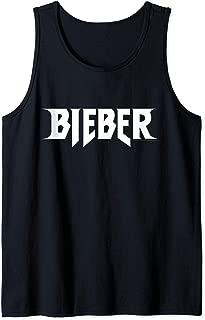 Justin Bieber Official Logo Tank Top