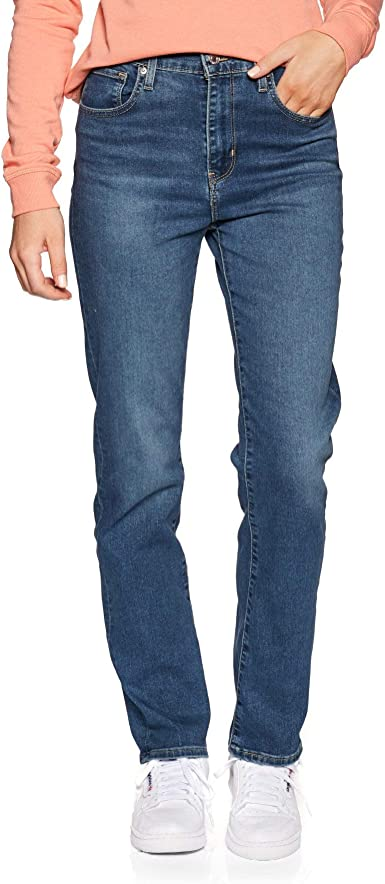 Levis 724 High Rise Straight Vaqueros Mujer