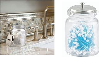 InterDesign Bathroom Storage, Glass, Clear, 24610ES