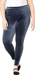 Women's Plus Size Velour Legging