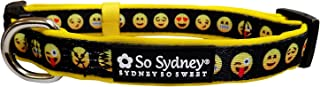 So Sydney Dog Collar or Dog Leash - Fun & Funky Patterns Collection - Adjustable Comfortable Dog Collar or 5' Leash