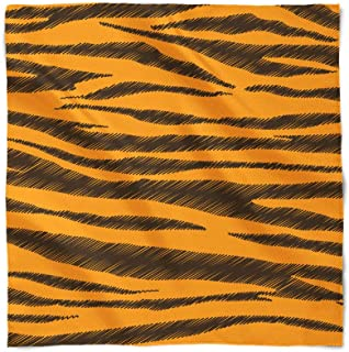 Tigger Stripes Winnie The Pooh Inspired Satin Style Scarf