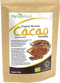Polvo de Cacao Peruano Crudo Orgánico (500g), MySuperFoods