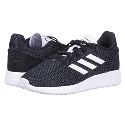 adidas Kids Run 70s (Little Kid/Big Kid) (Black/White/Carbon) Kid