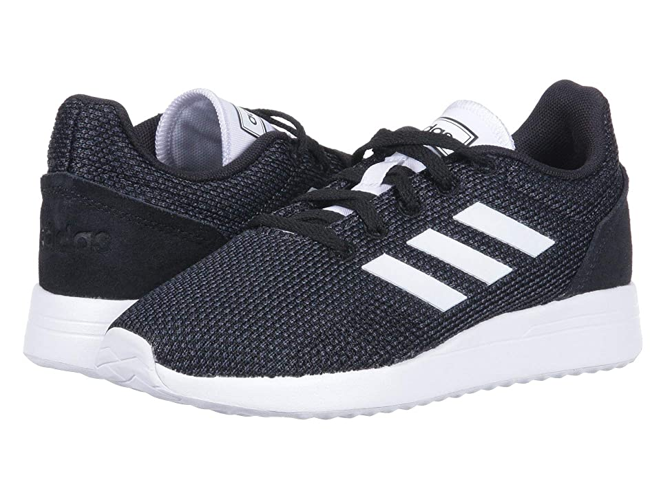 adidas Kids Run 70s (Little Kid/Big Kid) (Black/White/Carbon) Kid