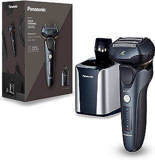 Panasonic ES-LV97-K803 Våt/torr rakapparat, 5-vägs rakhuvud med linjär motor, inklusive rengöring och laddningsstation, svart