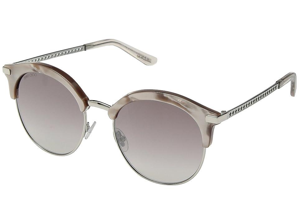 Jimmy Choo Hally/S (Nude) Fashion Sunglasses