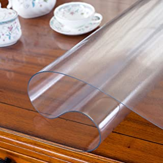 gfdasfsdgsd Pvc,Waterproof,Tablecloth Anti-scalding,[soft glass],Plastic,[coffee table meal],Table mat,Clear,Frosted,Crystal plate-A 70x130cm(28x51inch)