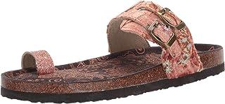 Muk Luks Women's Daisy Terra Turf-Copper Sandal