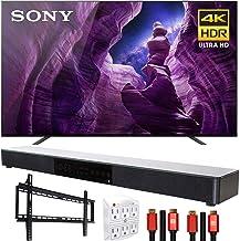 """Sony XBR65A8H 65"""" A8H 4K Ultra HD OLED TV (2020) Bundle with Deco Gear Soundbar"""