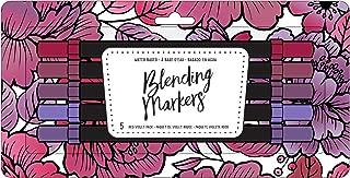 American Crafts 343254 Blending Markers, Red Violet