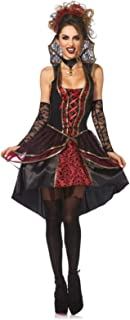 Leg Avenue Women's 3 Piece Vampire Queen Costume