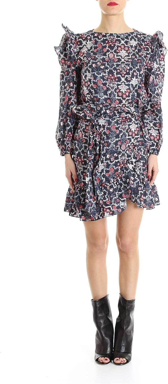 Isabel Marant Women's RO128819P025E30MI bluee Linen Dress
