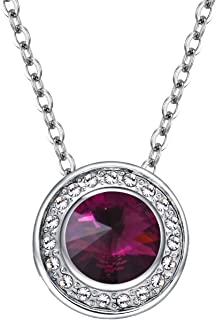 Collocation-Online Explosion Models Imported Austrian high-Grade Full Crystal Crystal Mercury Necklace Ladies Jewelry