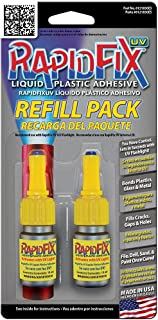 RapidFix UV Liquid Plastic Adhesive Refill 10 mL – Twin Pack, 6121830ES