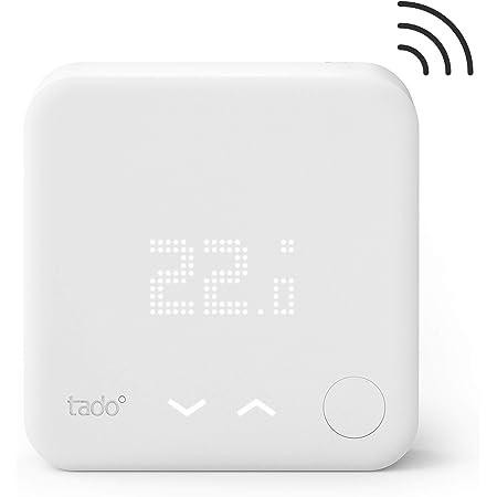 Sensor de Temperatura Inalámbrico tado° - un accesorio para los Cabezales Termostáticos Inteligentes, Instálalo tú mismo