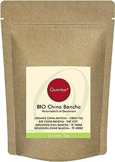 Té Bancha China Orgánica | Té Verde Orgánico | De sabor suave y dulce | Té verde orgánico de Quertee (200 g)