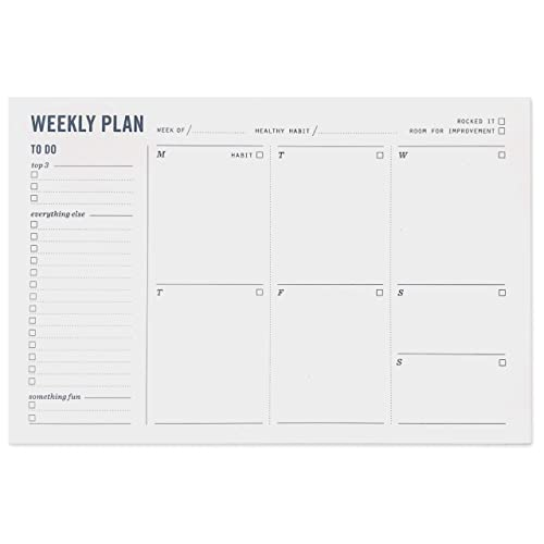 Weekly to Do Planners: Amazon com