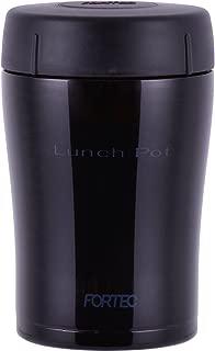 和平フレイズ 弁当箱 400ml ダークパープル ランチポット スープ 真空断熱 保温 保冷 フォルテックランチ FLR-6865