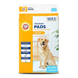 Arm & Hammer for Dogs Puppy Training Pads with Attractant | New & Improved Super Absorbent, Leak-Proof, Odor Control Quilt...