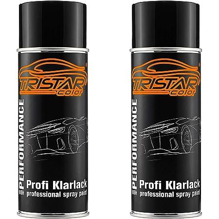 Tristarcolor 2 X Spraydose Profi Klarlack Matt 400 Ml Autolack Sprühdose Auto