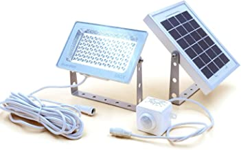 Guardian 580X Solar Security Floodlight with Standalone PIR Motion Sensor and Lithium Battery, 730 Lumen Full Brightness, ...