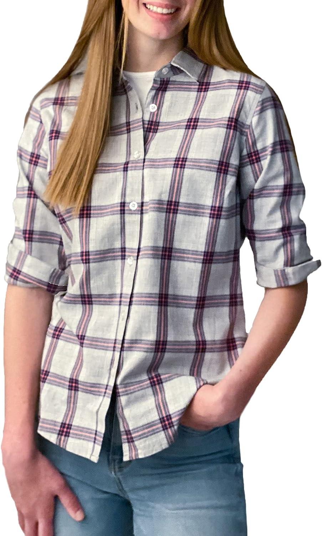 Hope & Henry Women's Classic Fit Shirt