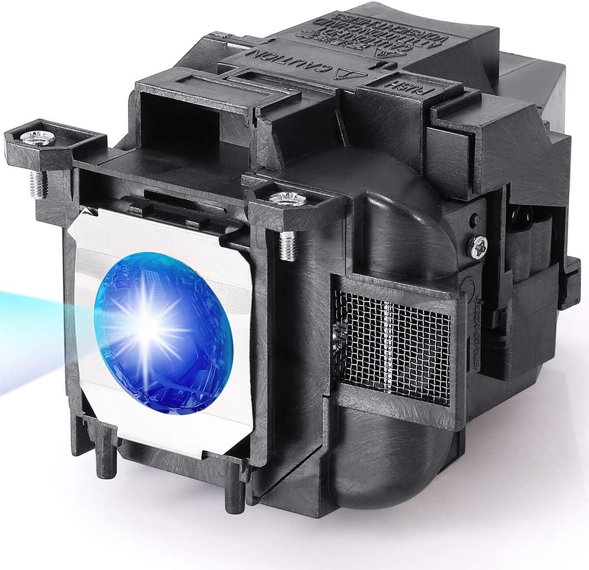 RICH LIGHTING ELP78 Projector Lamp Bulb for Epson ELPLP78 PowerLite Home Cinema 2045 2030 2000 730HD 725HD 600 VS230 VS330 VS335w EX7220 EX3220 EX5220 EX6220 EX7230 EX7235 V13h010l78 Replacement Bulb
