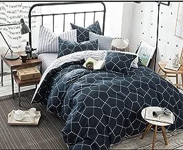 Best blue geometric comforter Reviews
