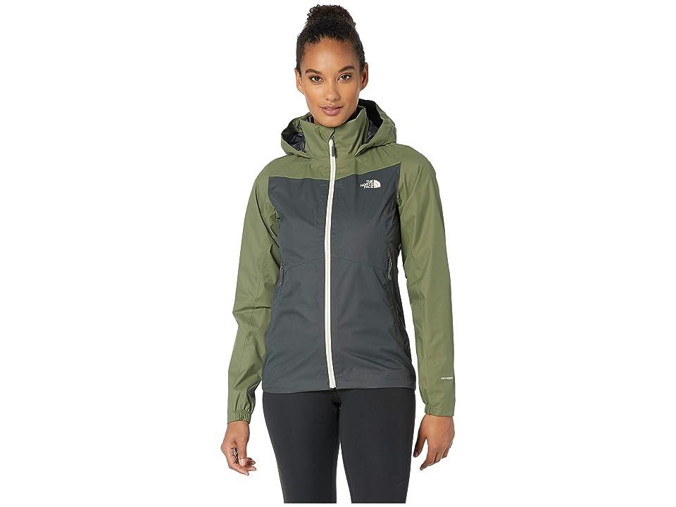 The North Face PR Resolve Plus Jacket (Asphalt Grey/Four Leaf Clover) Women