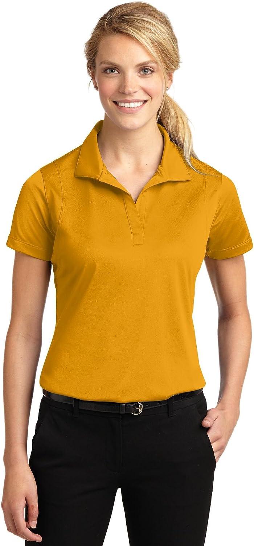 Sport-Tek Ladies Micropique Sport-Wick Polo, Large, Gold