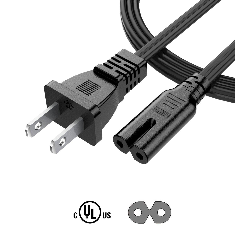 Garyway - Cable de alimentación de Pared para PS4 PS3 Slim, Xbox ...