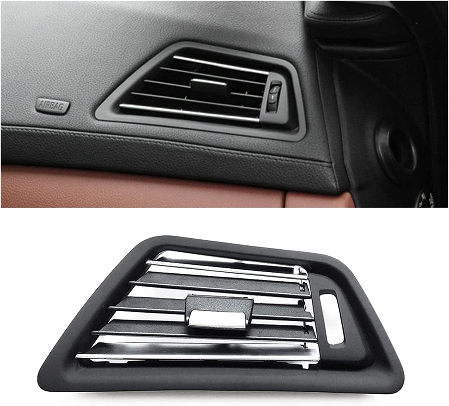 Iinger Luxury goods Front Console Right Air Vent Translated Fit for Panel Outlet Grille