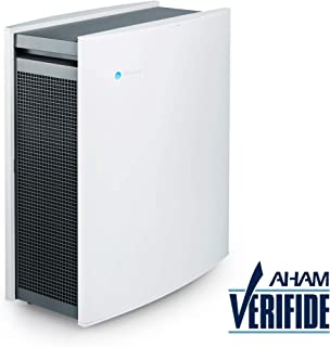 Blueair Classic 480i Air Purifier for Home with HEPASilent Technology and Dual Protection Filters for Relief fromAllergies, Viruses, Pets, Dust, Asthma, Odors, Smoke - Medium to Large Rooms