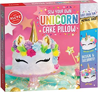 Klutz Sew Your Own Unicorn Cake Pillow
