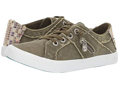 Blowfish Fruit (Ivy Green Smoked 16 oz Canvas/Natural Diego Weave) Women