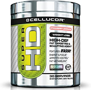 Cellucor, SuperHD Thermogenic Fat Burner Powder for Weight Loss