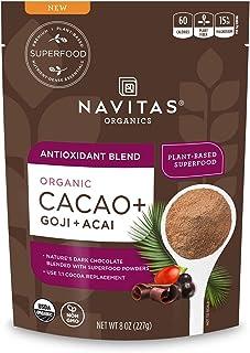 Navitas Organics Cacao+ Blend, 8oz. Bag, 15 Servings — Organic, Non-Gmo, Gluten-Free
