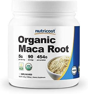 Nutricost Organic Maca Root Powder (1 LB)