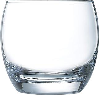 Arcoroc ARC N5831 Cabernet Salto Whiskyglas, 320 ml, Glas, transparent, 6 Stück