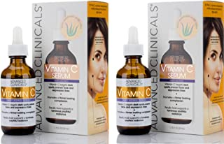 Advanced Clinicals Vitamin C Anti-aging Serum for Dark Spots, Uneven Skin Tone, Crows Feet and Expression L...