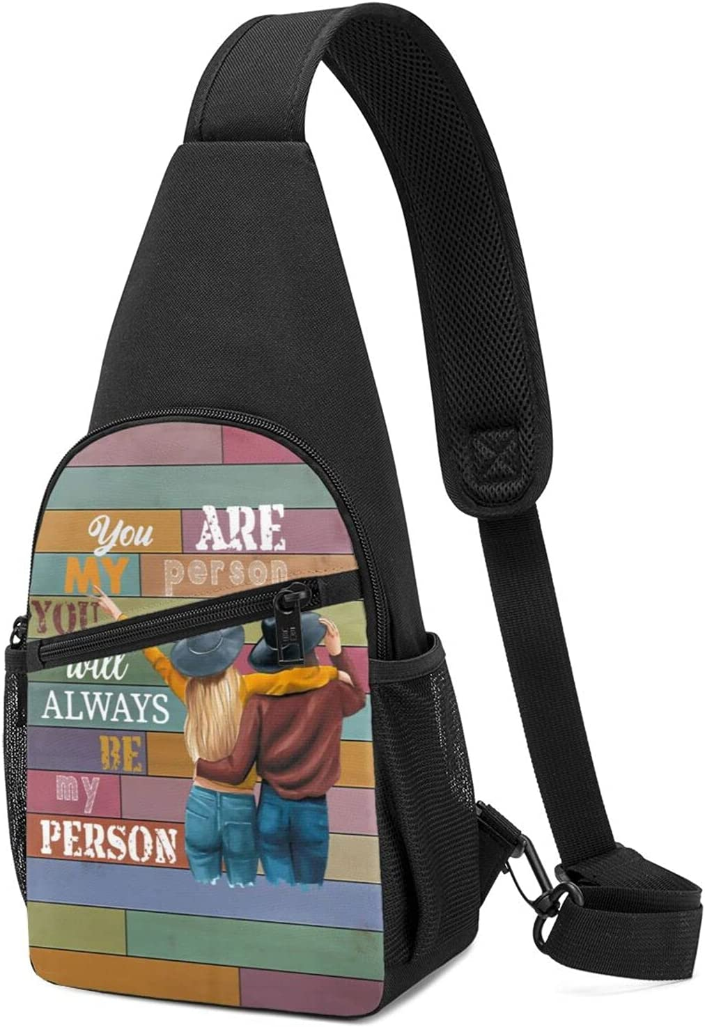 Kimisoy Discount At the price is also underway Sling Bag Bestie Best Friends Resistant Chest Fade Shoul